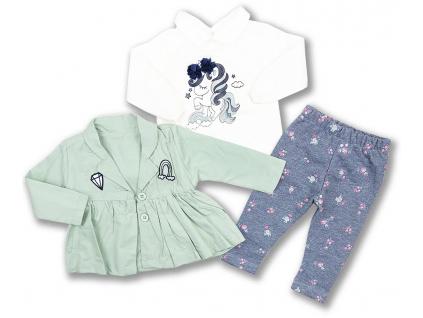 Set pre bábätká unicorn kojenecké oblečenie1