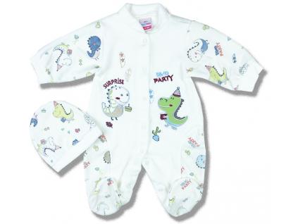 dupačky pre bábätká set dino