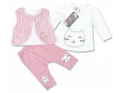 3dielny kojenecký set- Mačička