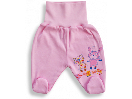 Polodupačky pre bábätká- BEST FRIENDS, ružové