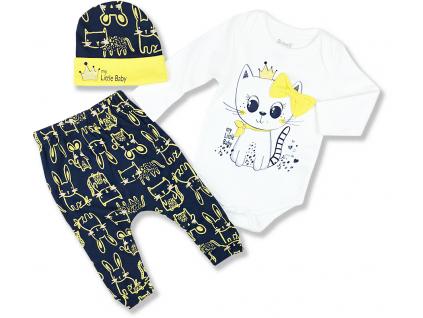 kojenecké oblečenie královná mačička