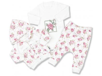 kojenecké oblečenie elci kvet
