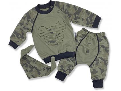oblečenie pre bábätká maskáčový maus