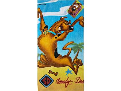 Detský uterák DISNEY - SCOOBY DOO, modrý (35 x 65)