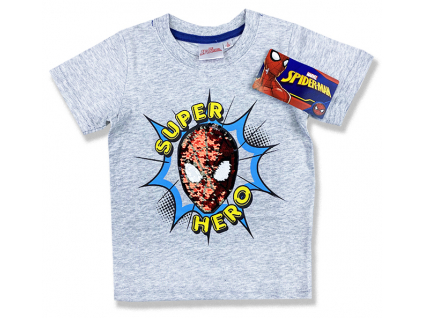 detské tričko spiderman s flitramy 1
