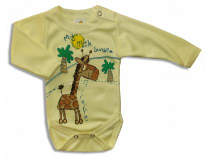 Detské body - ŽIRAFA, žlté