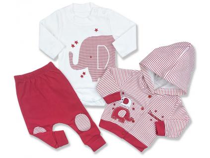 oblečenie pre bábätká sloník set