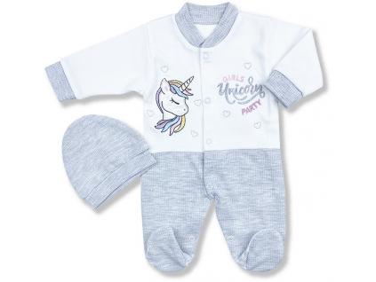 oblečenie pre bábätká omorfy unicorn set.