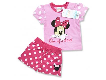 oblečenie pre bábätká letný set minnie1