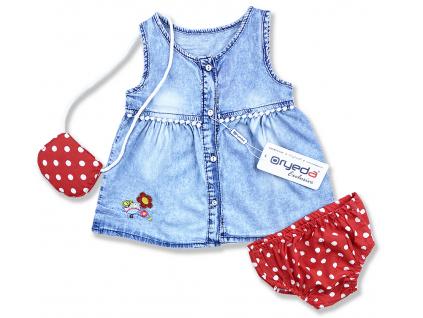 oblečenie pre bábätlká šaty3