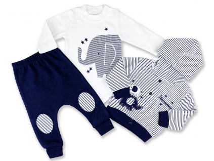oblečenie pre bábätká sloník otto1