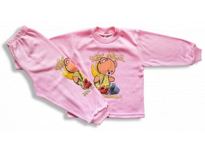 detská pyžama angel ruž