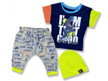 letné oblečenie pre bábätká dino