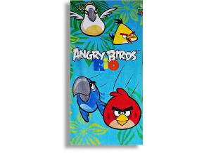 Detská osuška DISNEY- angry birds-RIO-2, (70x140)
