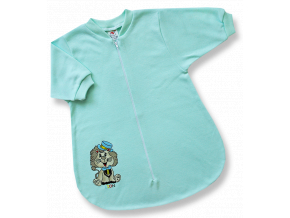 Spací vak pre bábätká - LION, zelený
