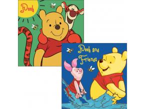 Detský ručník Disney- MACKO PU, 2ks (30x30)