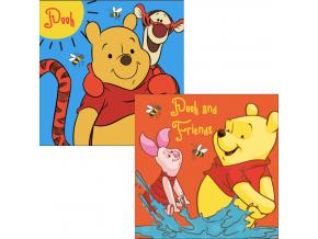 Detský ručník Disney- MACKO PU,, 2ks (30x30)