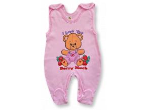 Dupačky pre bábätká - Berry, ružové