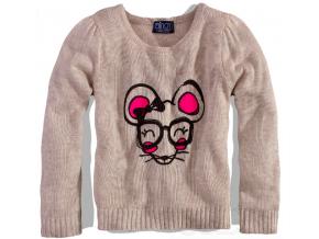 Dievčenský sveter - Myška