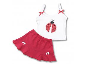 letný set pre bábätká so sukničkou