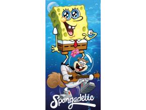 osuška pre deti spongebob