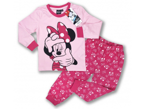 detské pyžamo minnie mouse1