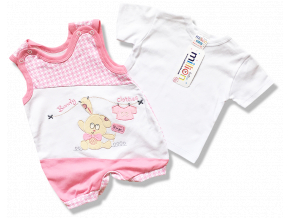2dielny set pre babatka clothes