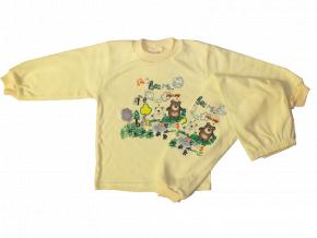 Detské pyžamo - BEAR, žlté