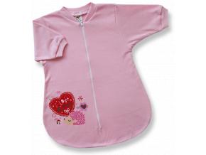 Spací vak pre bábätká – I LOVE MUMMY, ružový