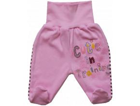 Polodupačky pre bábätká- CUTIE, ružové