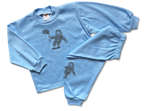 detske pyzamo kozmonaut