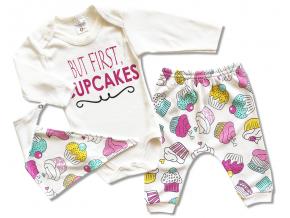 kojenecke oblecenie set cakes