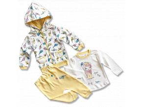 oblečenie pre bábätká set vtáčik