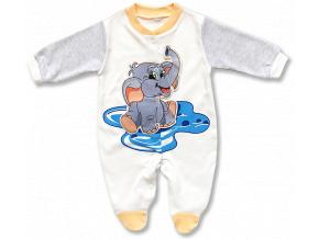 kojenecke oblecenie dupacky slonik