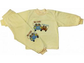 Chlapčenské pyžamo - BIG CAR, žlté