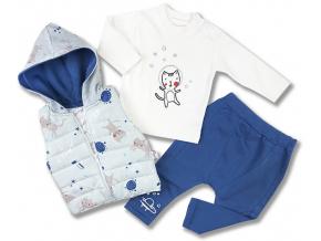 kojenecké oblečenie hippil biele