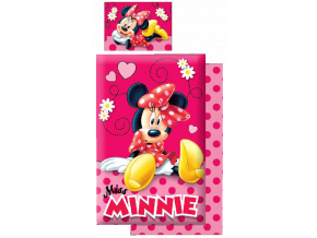 obliecky do postielky minnie
