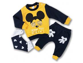 kojenecké oblečenie mous set