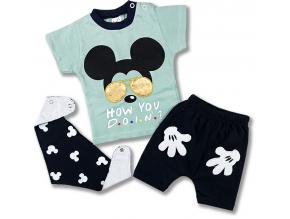 kojenecké oblečenie mous letný set