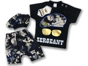 oblečenie pre bábätká sergant1
