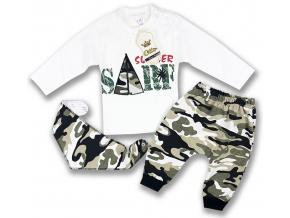 oblečenie pre bábätká set maskáč