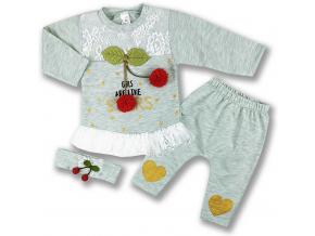 oblečenie pre bábätká set začrešňa