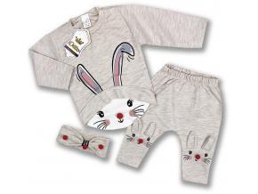 oblečenie pre bábätká set zajačik1