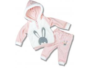flíšové oblečenie pre bábätká zajačik1