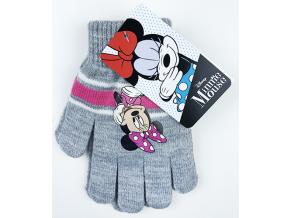detské oblečeni rukavice minnie mouse