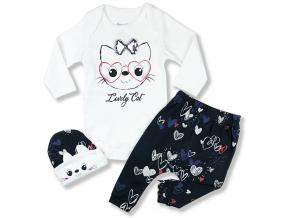 kojenecké oblečenie set cat