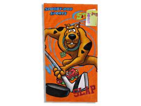 Detský uterák DISNEY - SCOOBY DOO sport, oranžové (35 x 65)