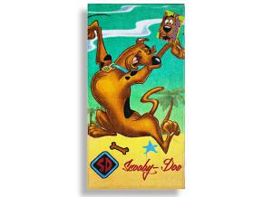 Detský uterák DISNEY - SCOOBY DOO, zelený (35 x 65)