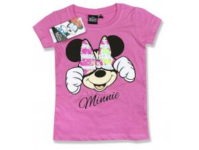 detské tričko minnie s flitramy 3