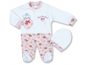 oblečenie pre bábätká esa mačička1